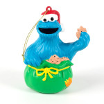 Cookie Monster Sack Ornament