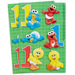 Sesame Street 1st Birthday Stickers