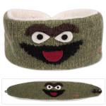 Sesame Street Oscar Knit Headband