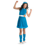 Cookie Monster Youth Girl Costume