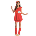 Elmo Youth Girl Costume