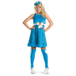 Cookie Monster Ladies Sassy Costume