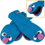 Grover Adult Mittens