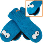 Cookie Monster Kids Mittens