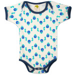 Grover Pattern Infant Snapsuit
