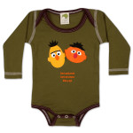 Bert Ernie Around the World Onesie