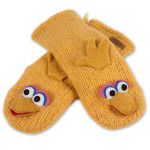 Sesame Street Big Bird Adult Mittens