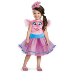 Sesame Street Abby Cadabby Tutu Deluxe Youth Girls Costume