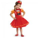 Sesame Street Elmo Tutu Deluxe Youth Girls Costume