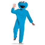 Sesame Street Cookie Monster Full Plush Prestige Adult Costume