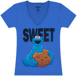 Cookie Monster Sweet Juniors Sleep T-Shirt