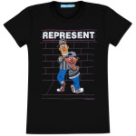 Bert & Ernie Represent Ladies T-Shirt