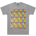 Sesame Street Gang Repeated Square T-shirt