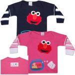 MORFS Elmo Loves You Infant Sock T-shirt