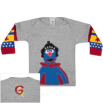 MORFS Super Grover Infant Sock T-shirt