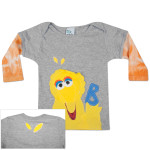 MORFS Big Bird Infant Sock T-shirt