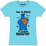 Cookie Monster Spot Ladies T-shirt