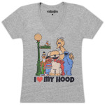 I Love My Hood Juniors T-shirt