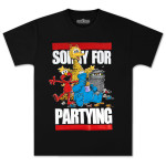 Sesame Street Sorry for Partying T-shirt