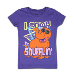 Sesame Street Stay Snufflin' Girls Tee
