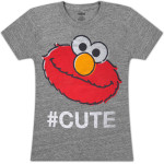 Elmo #CUTE Girls Tee