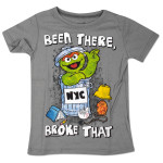 Sesame Street Been There, Broke That Oscar Tee
