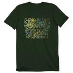 Sesame Street - Vintage Logo Tee