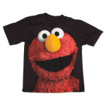 Sesame Street Elmo Photo Big Face T-Shirt
