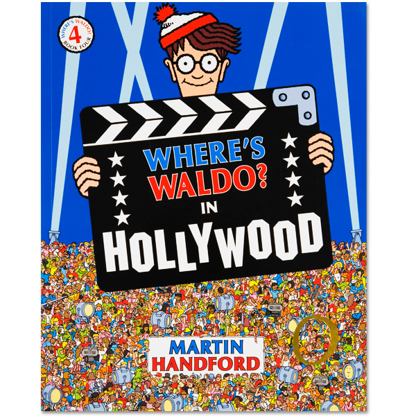 Where's Waldo? In Hollywood Book (Soft Cover)