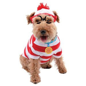 Where's Waldo Woof Dog Costume Kit