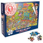 Where's Waldo Wild, Wild West 550-Piece Puzzle