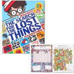 Where's Waldo? The Search for the Lost Things Book