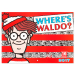 Where's Waldo 2017 Wall Calendar