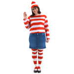 Where's Waldo Plus Size Wenda Costume Kit