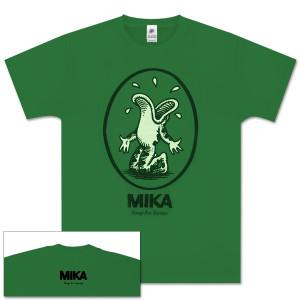 Mika Green Oval Frog Men's Tee
