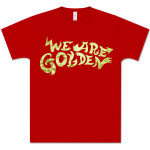 Mika Red Golden Foil Tee