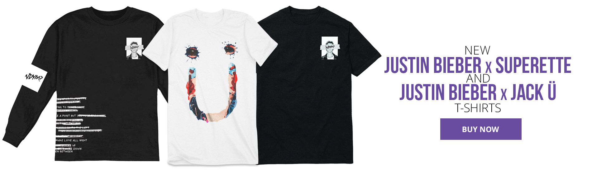 New Collaboration T-Shirts