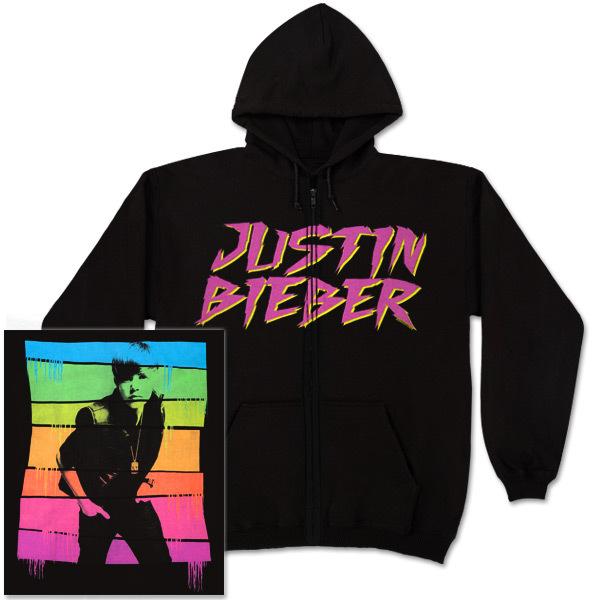 bieber hoodie. Bieber Pop Bars Zip Hoodie