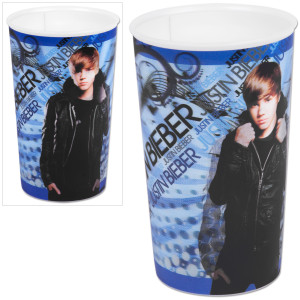 Justin Bieber Blue Leather Jacket Lenticular Cup