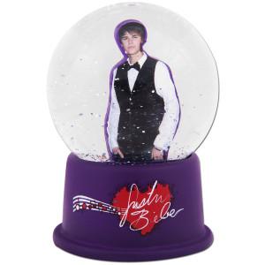 Justin Bieber Snow Globe