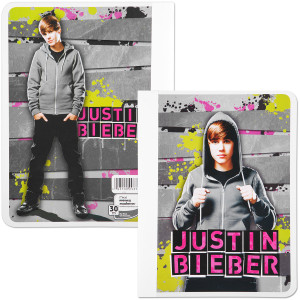 Justin Bieber Wide Ruled Composition Book - Hoodie