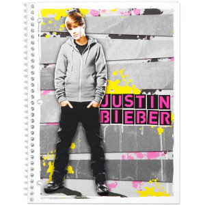 Justin Bieber Notebook 70 Count WR - Hoodie