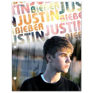 Justin Bieber Stacked Logo Folder