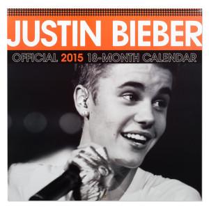 Justin Bieber 2015 Square 12x12 Calendar