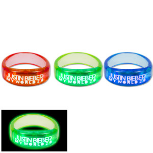 Justin Bieber Blinking Bracelet