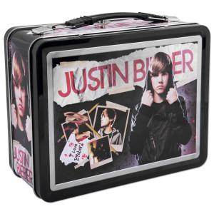 Justin Bieber Doodles Lunchbox