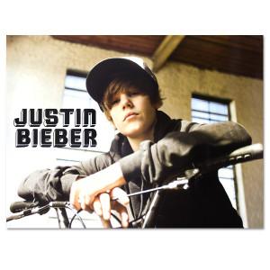 Justin Bieber Bike Poster