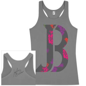 Justin Bieber Floral JB Juniors Tank