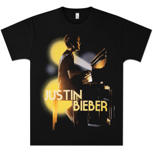 Justin Bieber Piano Burst T-Shirt