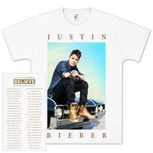 Justin Bieber Carside 2012 Tour T-Shirts